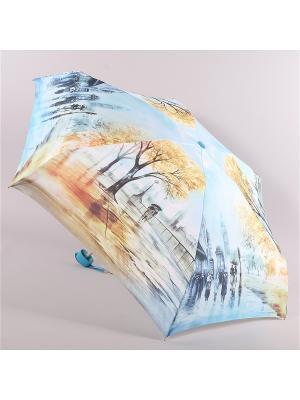 Зонт Zest. Цвет: голубой, золотистый