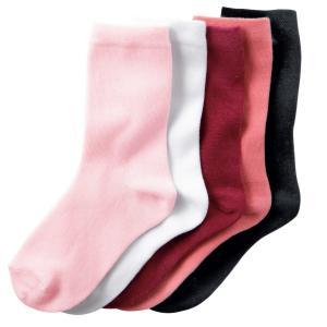 5 пар низких носков La Redoute Collections. Цвет: белый + розовый + черный