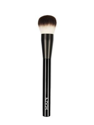 Профессиональная кисть для макияжа лица Многофункциональная PRO BRUSH - MULTI PURP BUFFING 03 NYX PROFESSIONAL MAKEUP. Цвет: черный
