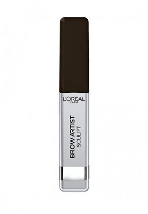 Тушь LOreal Paris L'Oreal. Цвет: коричневый