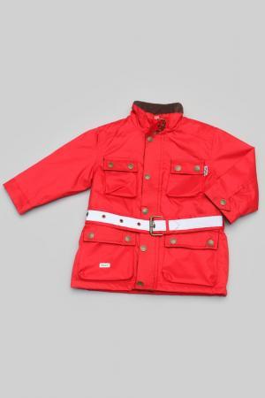 Куртка Trasluz. Цвет: красный