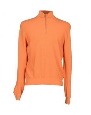 Водолазки LES COPAINS. Цвет: оранжевый