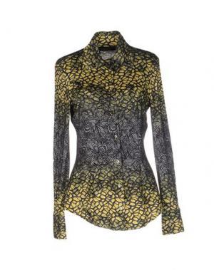 Pубашка FISICO-CRISTINA FERRARI. Цвет: желтый