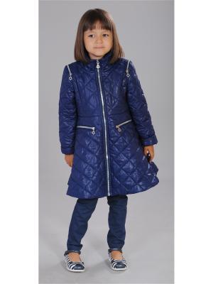 Пальто Fleur de Vie. Цвет: синий