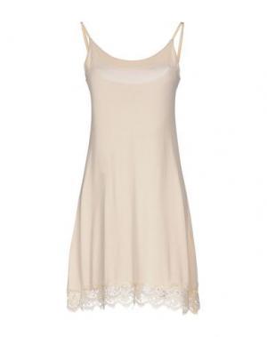 Короткое платье NÖE. Цвет: слоновая кость