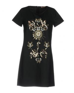Короткое платье DV Roma. Цвет: черный
