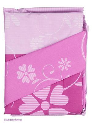 Комплект постельного белья Ozdilek. Цвет: розовый