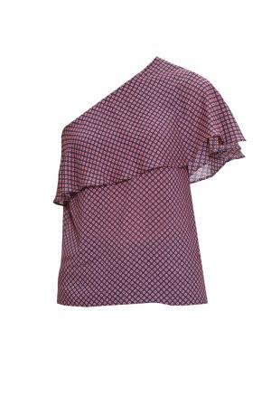 Блуза 169805 Demurya Collection. Цвет: разноцветный