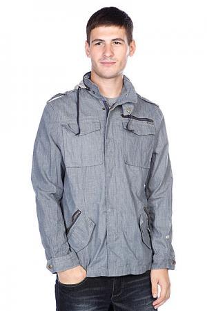 Ветровка  Ronson Jacket Blue Globe. Цвет: серый,голубой