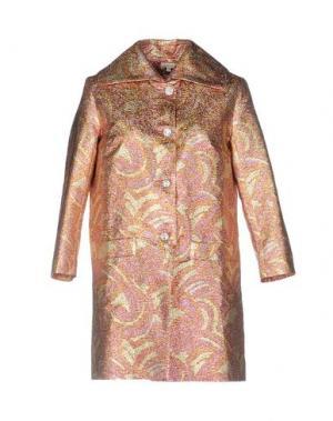 Легкое пальто MANOUSH. Цвет: пурпурный