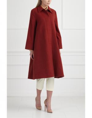 Пальто MoS. Цвет: красный