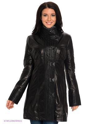 Пальто STEFANO FERRI. Цвет: черный