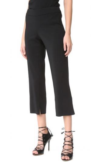 Укороченные брюки Cushnie Et Ochs. Цвет: голубой