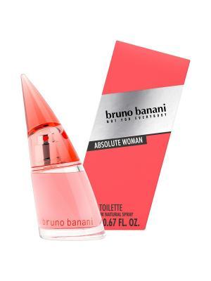 Туалетная вода Bruno Banani absolute woman, 20 мл. Цвет: прозрачный