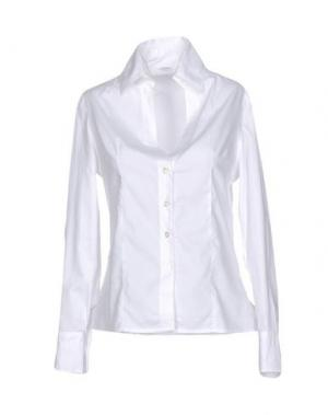 Pубашка BARBA Napoli. Цвет: белый