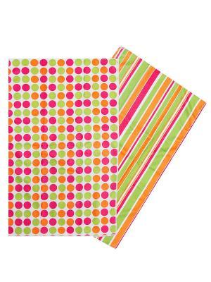 Комплект полотенец ZLATA KORUNKA. Цвет: оранжевый