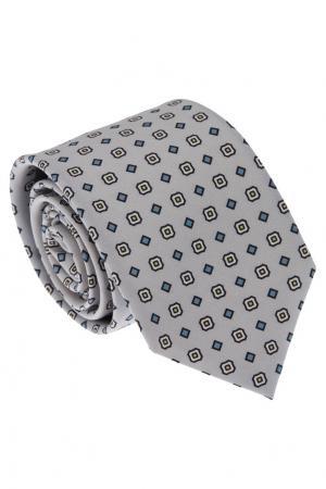 Серый галстук с узором Gucci. Цвет: серый