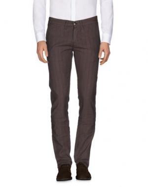 Повседневные брюки 2 MEN. Цвет: хаки