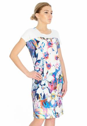 Платье Петербургский стиль. Цвет: разноцветный