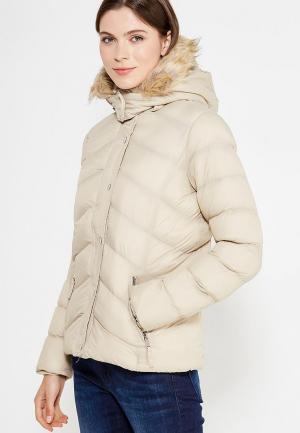 Куртка утепленная Alcott. Цвет: бежевый