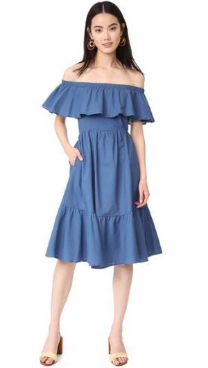 Платье Paramour Samantha Pleet. Цвет: голубой
