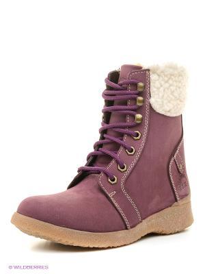 Ботинки Best Walk. Цвет: фиолетовый