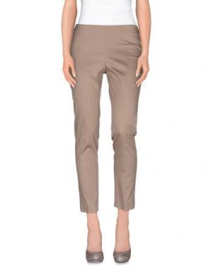 Повседневные брюки ALFONSO RAY. Цвет: голубиный серый