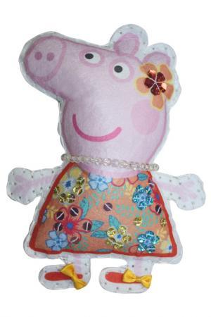 Шьем игрушку Пеппа на отдыхе Peppa Pig. Цвет: голубой
