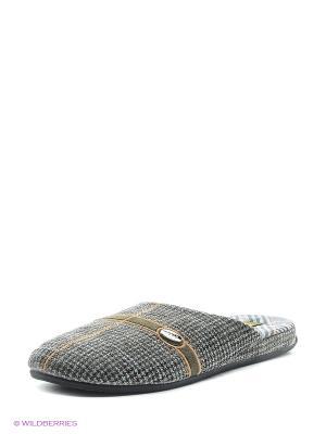 Тапочки Effa. Цвет: серый