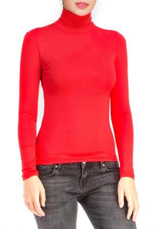 Водолазка Rocawear. Цвет: красный