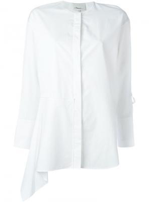 Драпированная рубашка 3.1 Phillip Lim. Цвет: белый