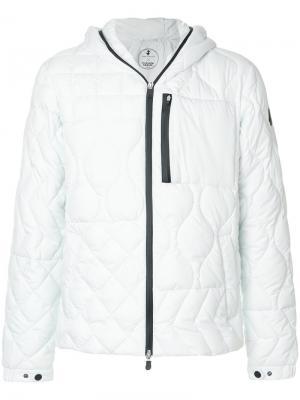 Стеганая куртка с капюшоном Save The Duck. Цвет: белый