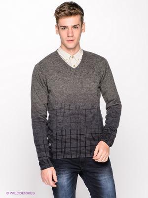 Пуловер Fred Mello. Цвет: серый, синий