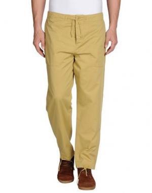 Повседневные брюки YMC YOU MUST CREATE. Цвет: хаки