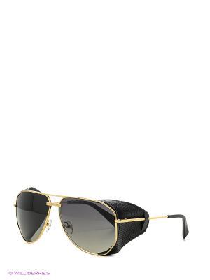 Солнцезащитные очки BLD 1619 101 Baldinini. Цвет: золотистый, черный