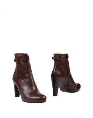 Полусапоги и высокие ботинки FABIO RUSCONI. Цвет: какао