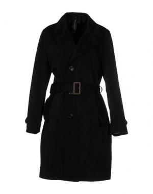 Легкое пальто TEN C. Цвет: черный