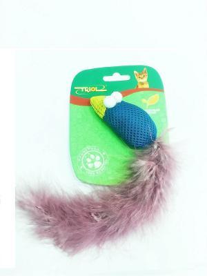 Игрушка для кошек TRIOL. Цвет: фиолетовый