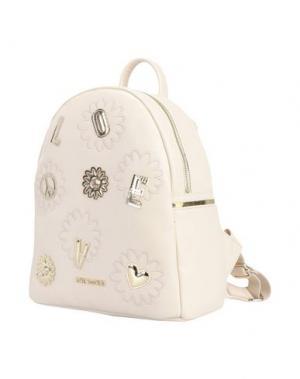Рюкзаки и сумки на пояс LOVE MOSCHINO. Цвет: слоновая кость