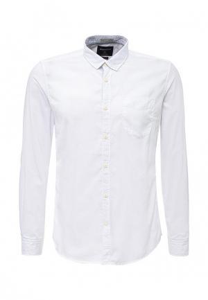 Рубашка Springfield. Цвет: белый
