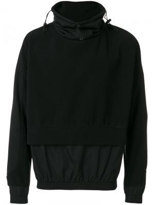 Double hem drawstring sweatshirt Cottweiler. Цвет: чёрный