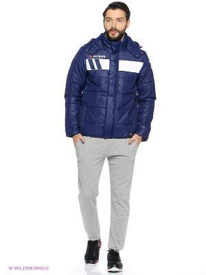 Куртка Patrick. Цвет: синий, белый