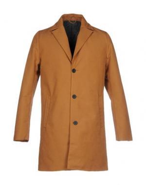Пальто RVLT/REVOLUTION. Цвет: коричневый