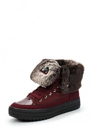 Ботинки Keddo. Цвет: бордовый