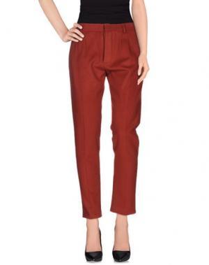 Повседневные брюки SOHO DE LUXE. Цвет: красный
