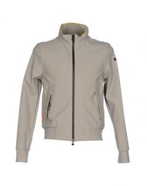 Куртка RRD. Цвет: светло-серый