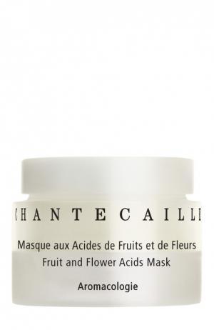 Восстанавливающая маска для лица с фруктовыми и цветочными кислотами Fruit & Flower Acids Mask Chantecaille. Цвет: бесцветный