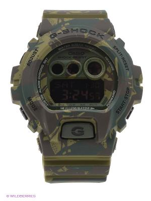 Часы G-Shock GD-X6900MC-3E CASIO. Цвет: хаки