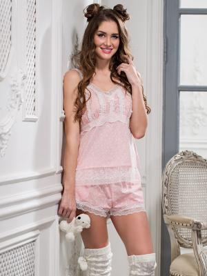 Пижама MIA-MELLA. Цвет: розовый
