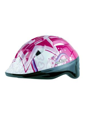 Роликовый шлем BABYSTAR MAXCITY. Цвет: фуксия